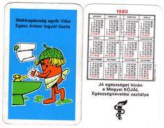KÖJÁL Egészségnevelési Osztály (és PIÉRT ua naptár) - 1980
