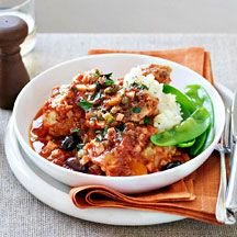 WW Chicken cacciatore with mashed potato - delicious! Used 1.2kg of free range chicken drumsticks for the chicken content & had amble sauce. Plenty of fresh flavours.