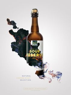 Upland Sour Ales: Branding & Packaging by Young & Laramore | Inspiration Grid | Design Inspiration