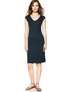 Gap Pure ribbed dress | Gap  Every woman should have in their closet!
