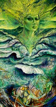 Ratu Kidul, goddess of the South Sea (Vietnam) Queen Of The South, South Seas, Goddesses, Magick, Sony, Vietnam, Spirituality, Ocean, Technology