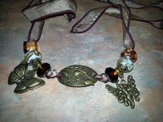 Lovely Silk Wrap Bracelet With by WolfMountainJewelry on Etsy, $25.00