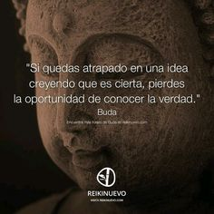 ... Buda. Si te quedas atrapado en una idea creyendo que es cierta, pierdes la oportunidad de conocer la verdad. More Than Words, Some Words, Buda Quotes, Quotes To Live By, Life Quotes, Motivational Quotes, Inspirational Quotes, A Course In Miracles, Spanish Quotes
