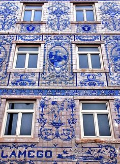 Windows of Lisbon (azulejo - portuguese tiles)   Portugal