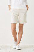 live-in chino cuffed shorts | J.Jill