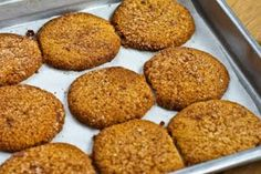 Kalyn's Kitchen®: Recipe for Low-Sugar or Sugar-Free Almond Flour Snickerdoodle Cookies (also Gluten-Free)