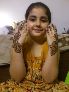 Latest Henna Designs for Kids