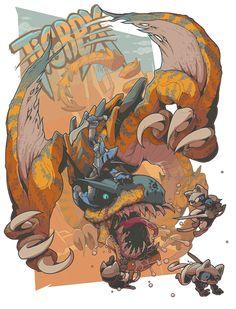 Monster Hunter Tribute: TIGREX - http://peanutgolem.jimdo.com/