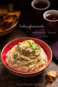 io...così come sono...: Baba ghanoush – melanzana, thaina e lime