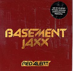 """For Sale - Basement Jaxx Red Alert UK  CD single (CD5 / 5"""") - See this and 250,000 other rare & vintage vinyl records, singles, LPs & CDs at http://991.com"""