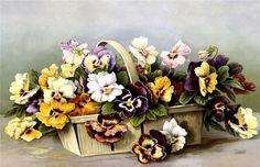 Gallery.ru / Фото #119 - Цветы и букеты 101 (фиалки, анютины глазки) - shennon