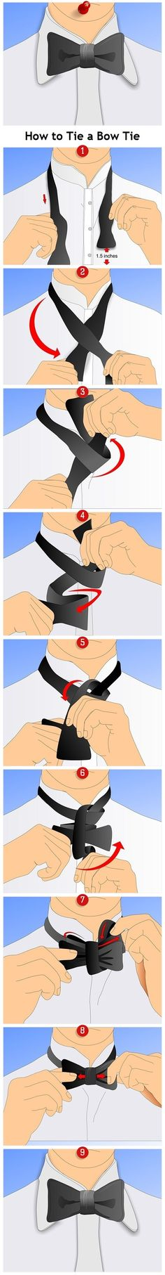 How to Make bow ties easily