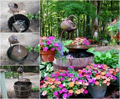 We love Water Features and if you do too, you need to check out this gorgeous Teapot version. It's very easy to make when you know how and it will look wonderful in a favorite space at your place. Check it out now.