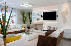 Casa em Jurerê Internacional por Julianna Pippi - Mundo das casas #pin_it