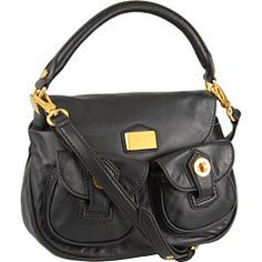 Marc by Marc Jacobs - House of Marc by Marc Jacobs Natasha (Black) - Bags and Luggage, $398.00 | www.findbuy.co/brand/marc-by-marc-jacobs #MarcbyMarcJacobs