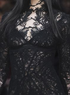 I am such a sucker for black lace! Cant get enough of it!
