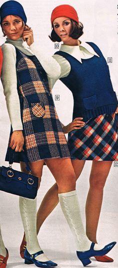 Sears catalog 1970. Cay Sanderson and Anne Morgan.