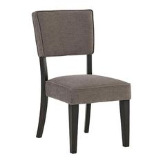 Gavelston Dining Upholstered Side Chair In Gray