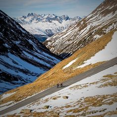 Riding up #PassoRombo a few weeks ago. The road pass between Austria and Italy is closed till next spring now.
