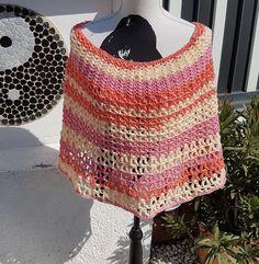 Lollypop Poncho Crochet, Accessories, Design, Fashion, Tutorials, Lute, Handarbeit, Creative, Moda