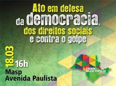 Por Dentro... em Rosa: Dia 18 de Março : todos na rua pela Democracia e N...