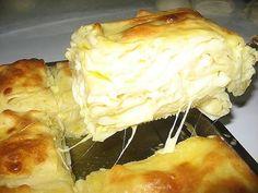 Ачма с сыром грузинская