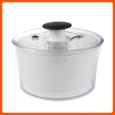 OXO Good Grips Salad Spinner, Large, Clear - Kitchen gadgets (*Amazon Partner-Link)