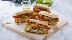 Ultimate Fried Green Tomato BLT