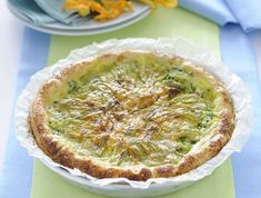 crostata di zucchine e fiori di zucca Sale&Pepe ricetta
