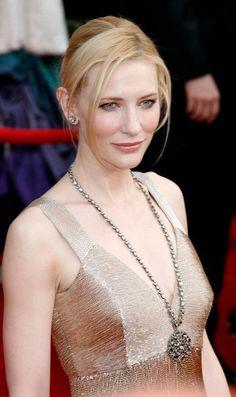 Cate Blanchett.  Beautiful and elegant.