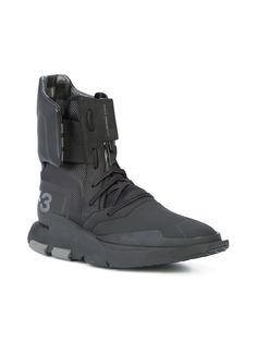 (lace-up sneakers)   Y-3