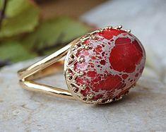 Jasper ring for women Red Jewelry, Stone Jewelry, Jewelry Rings, Jewellery, Jasper Stone, Red Jasper, Gold Rings, Gemstone Rings, Red Gemstones