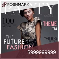 • Join Me 4/30/17 @ 7 pm PST • I am honored to be co-hosting my second posh party on Sunday, April 30 @ 7 pm PST.  Please join me in spreading this exciting news!   Look forward to celebrating with you.  Co-hosts and theme to be announced.   Stay tuned for further details. Frannyzfinds Accessories
