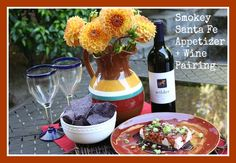 Smokey Santa Fe Appetizer + Wine  - World Market, check out the amazing gourmet finds from @WorldMarket when you visit Malia from Yesterday on Tuesday. #WorldMarketSweeps