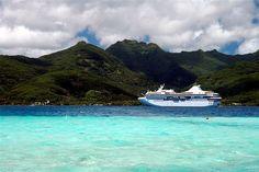 Tahiti Paul Gauguin Cruise Ship, French Polynesia ✯ ωнιмѕу ѕαη∂у
