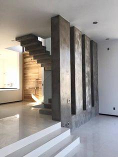 BOSQUES DE BUGAMBILIAS: Pasillo, hall y escaleras de estilo translation missing: mx.style.pasillo-hall-y-escaleras.moderno por Arki3d