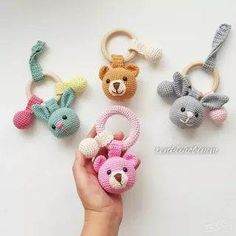 2019 All Best Amigurumi Crochet Patterns - Amigurumi Free Pattern The most admired amigurumi crochet toy models in 2019 are waiting for you in this article. The most beautiful amigurumi toy patterns are all on this site.Baby crochet teethers and paci Crochet Baby Toys, Crochet Patterns Amigurumi, Crochet Animals, Crochet Dolls, Free Crochet, Knit Crochet, Amigurumi Tutorial, Crochet Fringe, Crochet Bunny