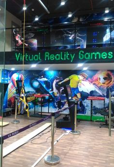 The age of #VirtualReality has kicked-off to a colorful start in 2017. Experience it first-hand at VR World