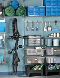 Garage Organization Ideas at WomansDay.com - How to Organize Your Garage - Womans Day