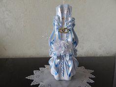 Hochzeitskerze  geschnitzte Kerze.Unikat. von LenzKerzen auf Etsy, €30.00