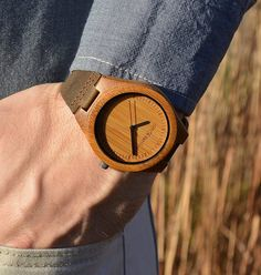 The Legend is a high-quality watch with a minimalistic, earthy look. The watch is made from quality materials, attractive and i'd recommend it to anyone. Full review at bambooaffinity.com.