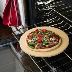 Pizza Stone 13 in. Dia. Rnd, Brbx, Htcore