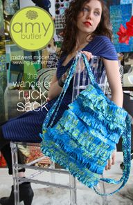 Wonderer Ruck Sack by Amy Butler - Not a knapsack person but I could make an exception for this