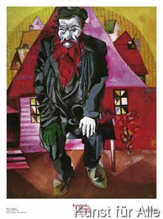 Marc Chagall - L'ebreo rosso