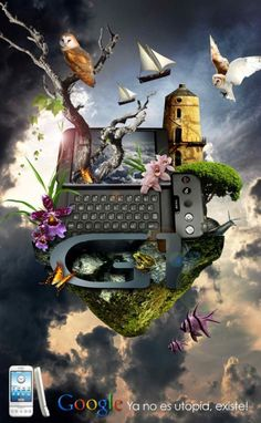 20 Stunning Mobile Advertisements Inspired by Nature