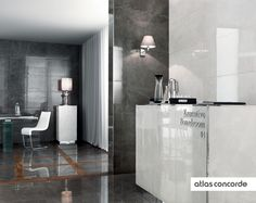 #MARVEL grey and moon | #AtlasConcorde | #Tiles | #Ceramic | #PorcelainTiles