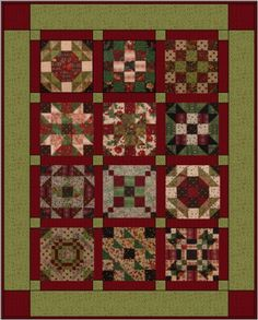 2007:  25 Days Until Christmas BOM Project from BOMquilts.com