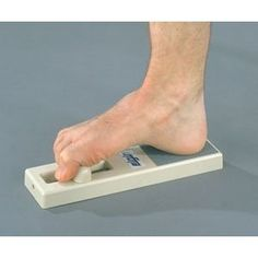 I need this contraption. Elgin Archxerciser Foot Strengthening Device : Great for Plantar Fasciitis and Heel Spur Syndrome