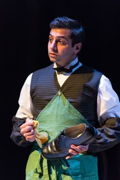 Chris Nayak as Borachio in Love's Labour's Won. #RoyalShakespeareCompany's #LoveLaboursLost and #LovesLaboursWon coming to Riverside's Big Screen March - April. #RiversideScreen