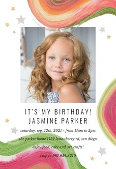 Colorful Paint Brushes - Birthday Invitation #invitations #printable #diy #template #birthday #party Free Birthday Invitations, Paint Brushes, Create Yourself, Arts And Crafts, Printables, Colorful, Island, Party, Diy
